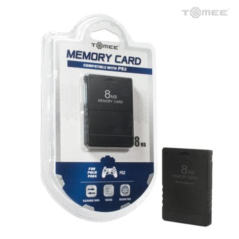 Memory Card Ps2 8mb ps2 8mb memory card tomee playstation 2 sony