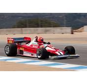 Ferrari 312 T2  Chassis 026 Driver Chris MacAllister