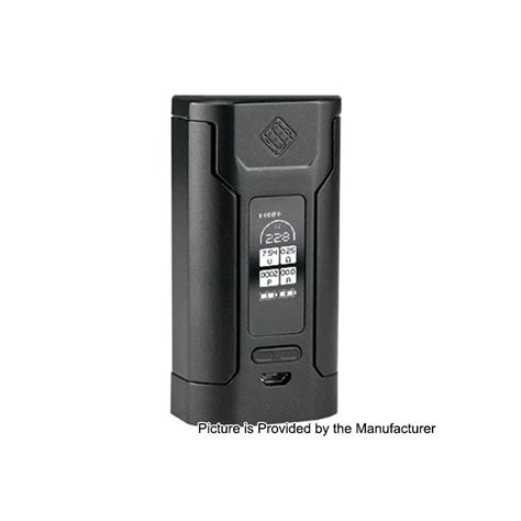 Wismec Predator 228w Box Mod Vape Authentic Asli Murah authentic wismec predator 228 228w black tc vw variable