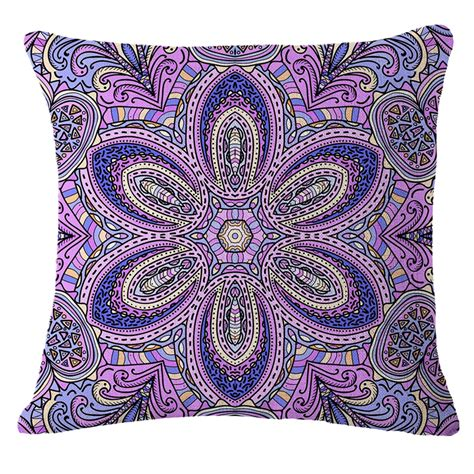 floral paisley home decor throw pillow sofa waist