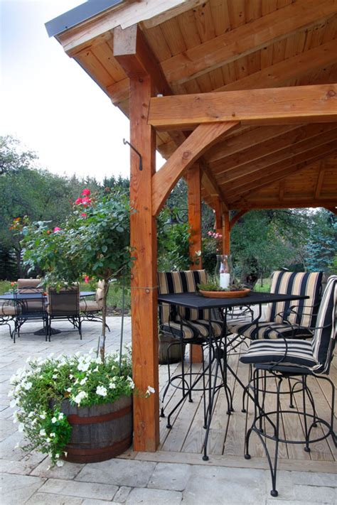 timber frame porch gallery  heritage woodworking