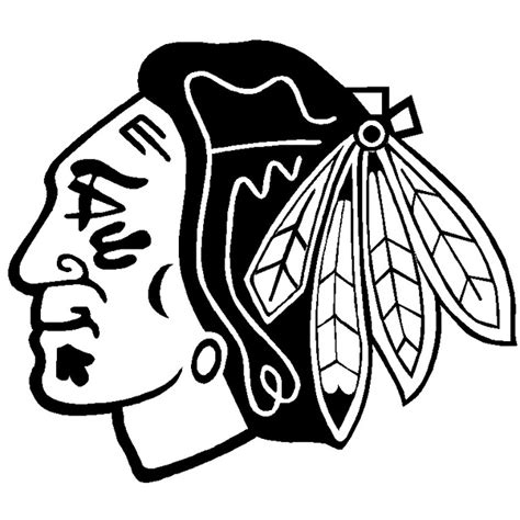 Chicago Blackhawks Coloring Pages free coloring pages of chicago cubs logo
