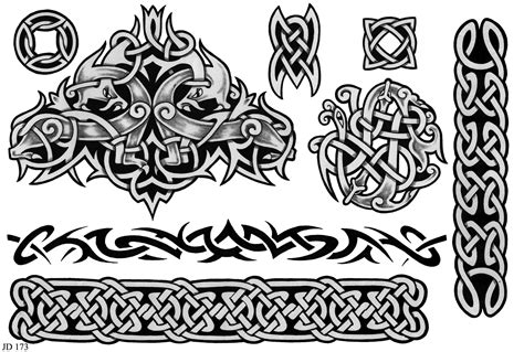 celtic art tattoo designs celtic designs sheet 173 celtic designs