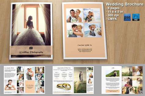 wedding photography brochure v328 brochure templates