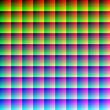 how many colors can the human eye distinguish visible light why does the colour wheel wrap around