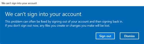 cant sign into account on android solved quot we can t sign into your account quot error on windows 10 spiceworks