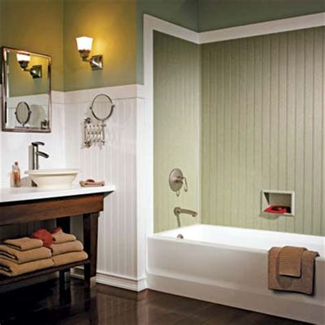 waterproof beadboard paneling 1000 images about bathroom ideas on