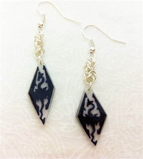 how to make jewelry skyrim skyrim earrings 183 a pair of shrink plastic earrings