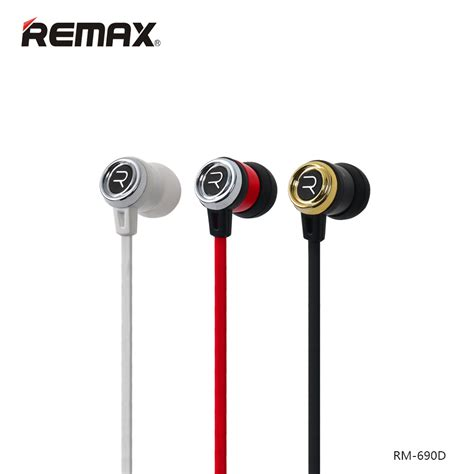 Remax Earphone With Microphone Volume For Iosandroid remax bass earphone with microphone volume
