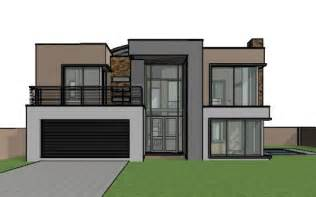Exceptional Modern 2 Bedroom House Plans #2: M301D-3D-View-1-525x328.jpg