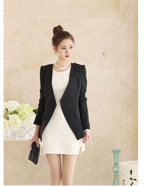 Atasan Chongsam Batik Wanita Imlek Bigsize blazer wanita korea modis terbaru model terbaru jual murah import kerja