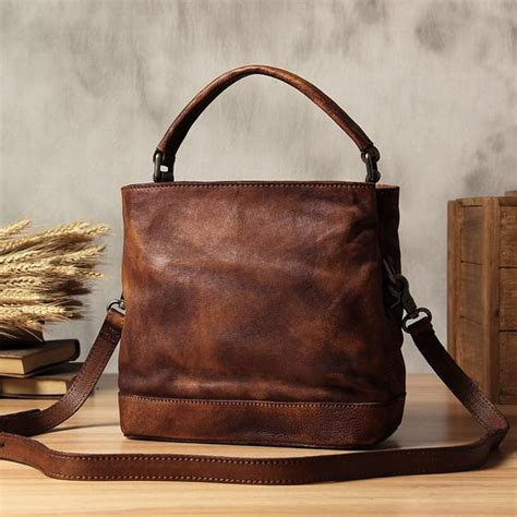 If You Fancy Winning A Vintage Laptop Bag by Handmade Vintage Brown Leather Briefcase S Messenger