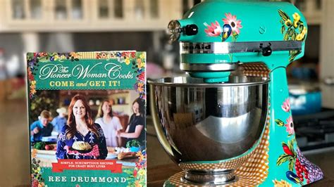 Pioneer Woman Kitchenaid Mixer Giveaway - the pioneer woman is giving away a gorgeous floral kitchenaid mixer