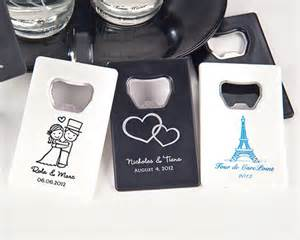 Wedding Favors Bottle Openers Personalized by Personalized Credit Card Bottle Opener Many Designs