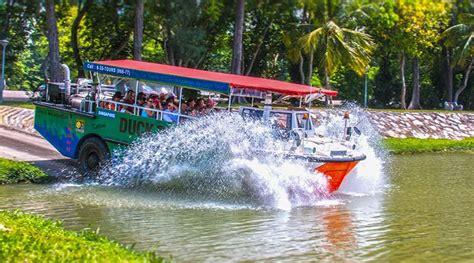 duck boat tour route singapore duck tour singapore tours