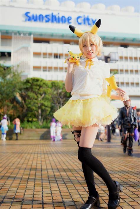 pokemon cosplay adorable pokemmon human pikachu cosplay girl
