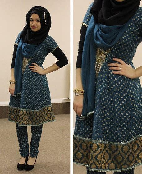 Mu236 Baju Muslim India Janna saima chowdhury la drop earring i m hijabs