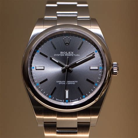 Rolex Oyster Perpetual 39mm   Edinburgh Watch Company