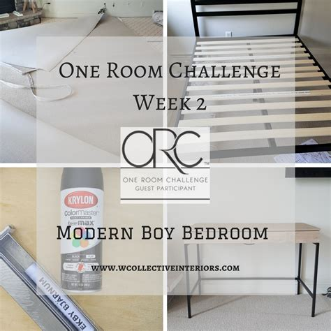 one room challenge one room challenge week 2 modern boy bedroom w