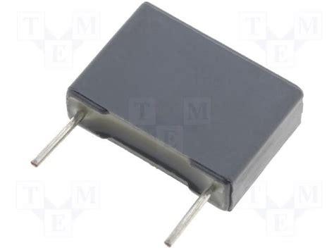 68n capacitor r60mi26801300k kemet polyester capacitor mkt 68nf 400v rm15 10 tme electronic