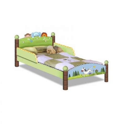 Toddler Bed Measurements by Jolly Jungle Toddler Bed