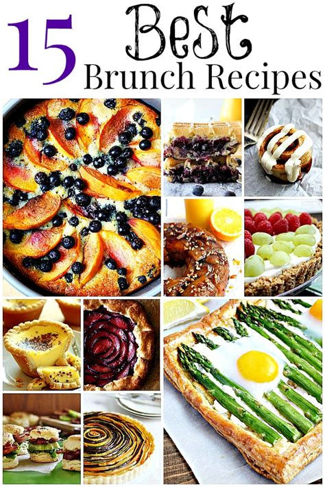 15 best brunch recipes to impress your guests home