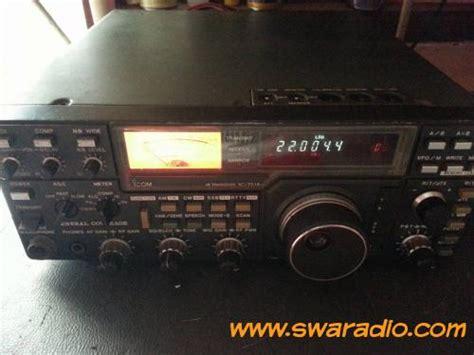 Jual Swr Sx 401 Baru Radio Komunikasi Elektronik Terbaru dijual icom ic 751a daleman mulus komplit swaradio