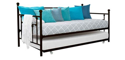 cool twin size daybed on dhp furniture manila twin size dhp manila metal framed daybed with trundle review houzart