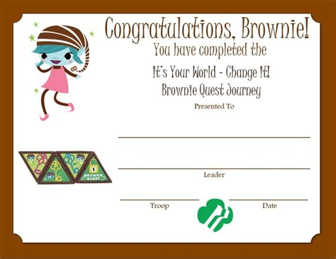 26 Best Images About Brownie Quest Journey Ideas On