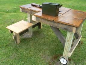shooting table plans alf img showing gt rifle shooting bench