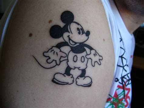 mickey mouse tattoos mickey mouse tattoos