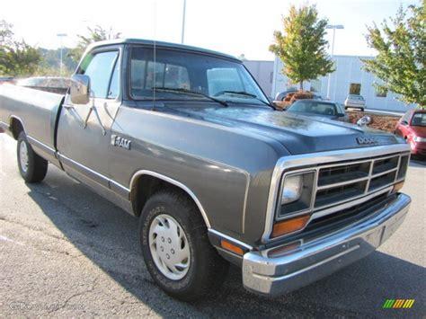 86 dodge ram 1986 charcoal gray metallic dodge ram truck d150 ram