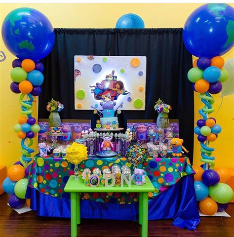 birthday decoration ideas at home for boy boov party theme dreamworks home boov birthday