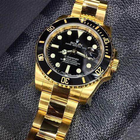 Rolex Black Gold rolex submariner black gold automatic the high hub