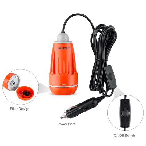 Outdoor Electric Shower by Portable Electric Shower Water Outdoor Cing Travel Car Caravan C Set Ebay