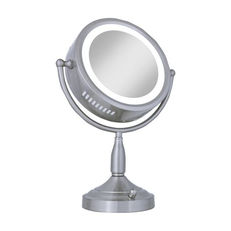 battery operated vanity mirror awesome large lighted makeup mirror
