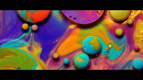 colorful colors colors experimental video by thomas blanchard using