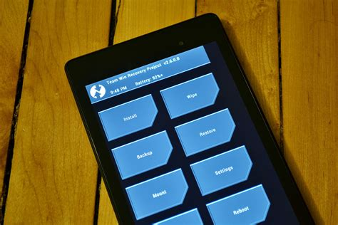 Android Recovery by Twrp Recovery Released For The 2013 Nexus 7 Easy Root Via