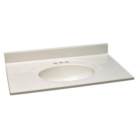 design house vanity top design house 551077 single bowl marble vanity top 37 inch