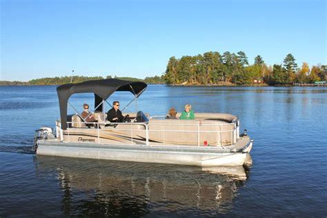 fishing lodges with pontoon boats lake vermilion boat motor rentals