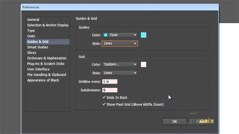 adobe illustrator cs6 reset preferences setting up preferences on adobe illustrator youtube