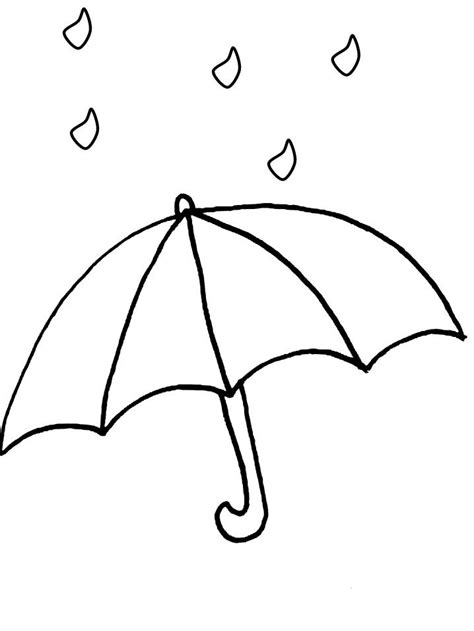 free coloring pages umbrella umbrella coloring pages 17