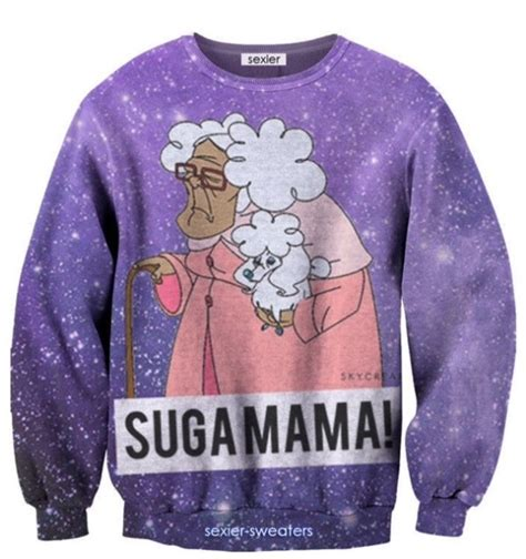 Sweater Chaos Logo Fashion Family proud family suga disney pullover sweatshirt from