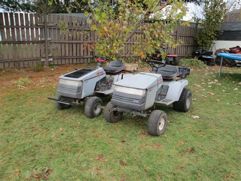 two craftsman two craftsman offroaders tell me what you think