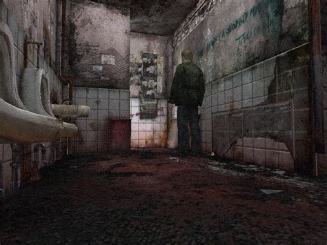 Horror Bathroom by Silent Hill 2 A Retrospective Snacked Up