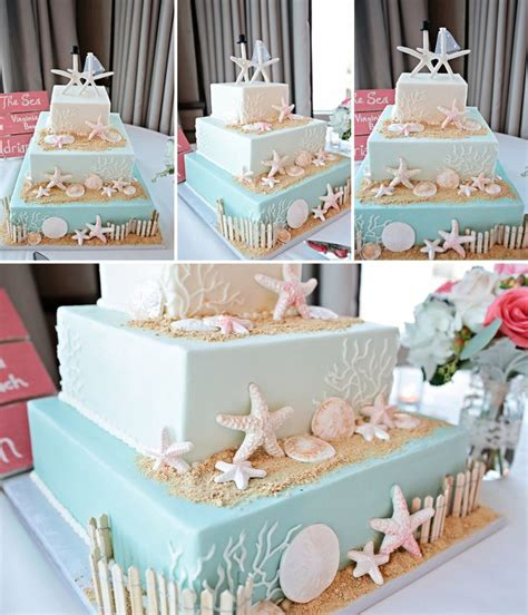 25 best ideas about beach themed cakes on pinterest