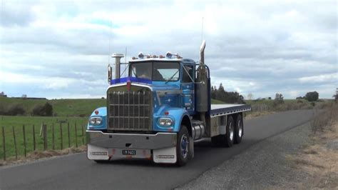 new model kenworth trucks trucks new zealand 1977 kenworth w model youtube