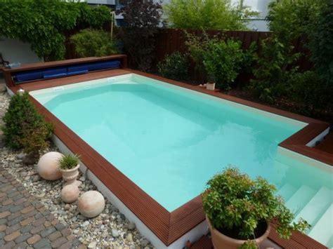 Pool Halb Eingelassen by Styropor Pool Styroporsteine F 252 R Den Poolbau Pooldoktor At