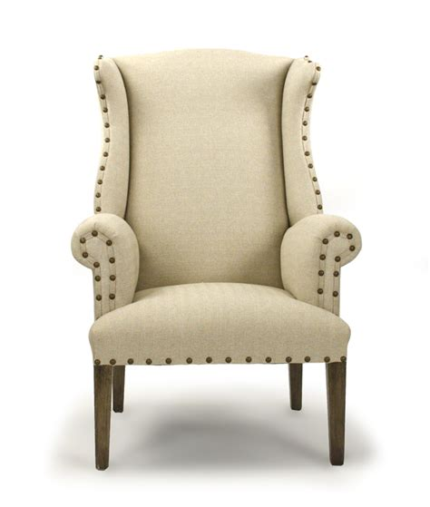 Wing Back Chair by Zentique 10 Wing Back Chair