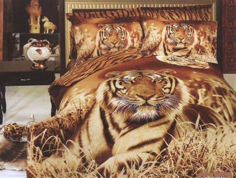 Tiger Decor classic tiger bedroom design and decorations ideas